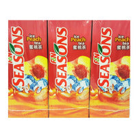F&N Seasons Packet Drink - Ice Peach Tea 6 x 250... | Asian Drinks | Office Pantry Supplies