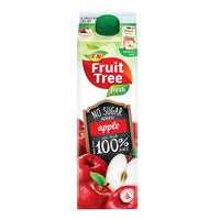 F&N Fruit Tree Fresh No Sugar Added Juice - Apple 1L | Pure Fruit Juices | Office Pantry Supplies