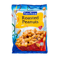 FairPrice Peanuts - Roasted 150G | Beans Seeds Nuts | Office Pantry Supplies