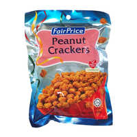 FairPrice Peanut Crackers 150G | Beans Seeds Nuts | Office Pantry Supplies