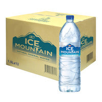 F&N Ice Mountain Pure Drinking Bottle Water 12 x... | Water | Office Pantry Supplies