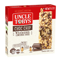 Uncle Tobys Wholegrain Muesli Bars - Chocolate C... - 185g (6 per pack) | Cereal Bars | Office Pantry Supplies
