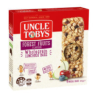 Uncle Tobys Wholegrain Muesli Bars - Forest Frui... - 185g (6 per pack) | Cereal Bars | Office Pantry Supplies