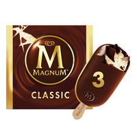 Magnum Ice Cream - Classic  3 x 110ML | Ice Cream | Office Pantry Supplies