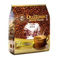 Old Town 3 in 1 Instant White Coffee - Cane Sugar - 15 x 36g | Instant Coffee | Office Pantry Supplies