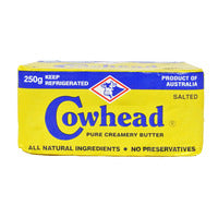 Cowhead Block Butter - Salted 250G | Spreads | Office Pantry Supplies