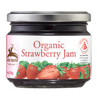 Alce Nero Organic Jam - Strawberry 270G | Spreads | Office Pantry Supplies