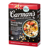 Carman's Muesli - Classic (Fruit & Nut) 500G | Granola, Muesli and Others | Office Pantry Supplies