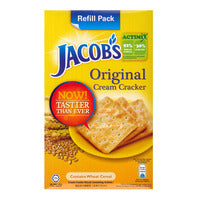 Jacob's Cream Crackers - Original - 450g | Biscuits and Crackers | Office Pantry Supplies