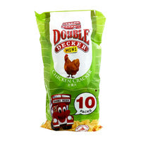 Double Decker Crackers - Chicken (Mini Packs) 10 x 10G | Other Snacks | Office Pantry Supplies