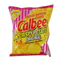 Calbee Potato Chips - Original 80G | Chips and Crisps | Office Pantry Supplies