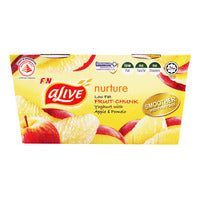 F&N aLive Low Fat Yoghurt - Apple & Pomelo 2 x 135G | Milk and Cream | Office Pantry Supplies
