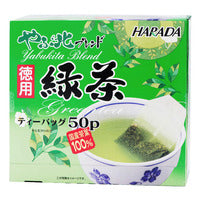 Harada Yabukita Blend Japanese Green Tea Bags 50 x 2G | Japanese Tea | Office Pantry Supplies