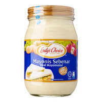 Lady's Choice Dressing - Real Mayonnaise 470ML | Dressings and Toppings | Office Pantry Supplies