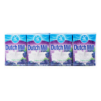 Dutch Mill UHT Drinking Yoghurt - Blueberry 4 x 90ML | Milk and Cream | Office Pantry Supplies