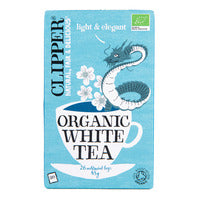 Clipper Organic White Tea Bags 26S | Fruit, Flower and Herbal | Office Pantry Supplies