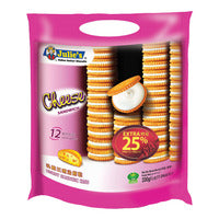 Julie's Sandwich Biscuits - Cheese - 413g (12 per pack) | Biscuits and Crackers | Office Pantry Supplies