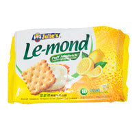 Julie's Le-Mond Sandwich Biscuits - Lemon - 170g | Biscuits and Crackers | Office Pantry Supplies