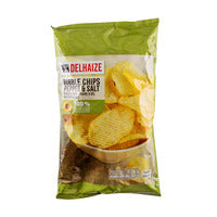Delhaize Ribble Chips - Pepper & Salt 200G | Chips and Crisps | Office Pantry Supplies