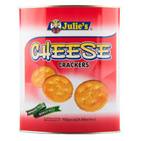Julie's Crackers - Cheese - 700g | Biscuits and Crackers | Office Pantry Supplies