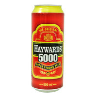 The Original Haywards 5000 Super Strong Can Beer 500ML | Beer | Office Pantry Supplies