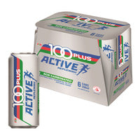 100 Plus Isotonic Can Drink - Active 6 x 300ML | Energy | Office Pantry Supplies
