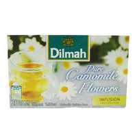 Dilmah Infusion Pure Tea Bags - Camomile Flower 30G (20S) | Fruit | Office Pantry Supplies