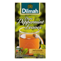Dilmah Infusion Pure Tea Bags - Peppermint Leaves 20 x 1.5G | Fruit | Office Pantry Supplies