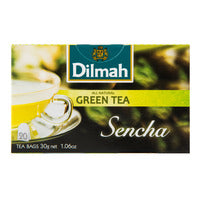 Dilmah Tea Bags - Sencha Green Tea 30G (20S) | Green Tea | Office Pantry Supplies