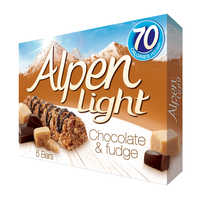 Alpen Light Cereal Bars - Chocolate & Fudge  5 x... | Cereal Bars | Office Pantry Supplies