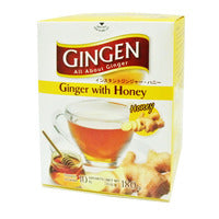 Gingen Instant Ginger Powder - Honey 180G (10S) | Fruit | Office Pantry Supplies
