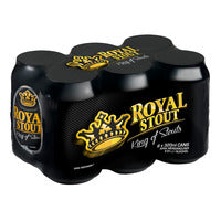 Danish Royal Stout Can Beer 6 x 320ML | Beer | Office Pantry Supplies