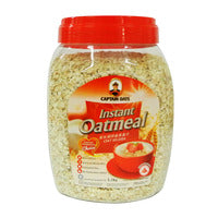 Captain Oats Oatmeal - Instant 1.2KG | Oats | Office Pantry Supplies