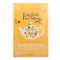 English Tea Shop Organic Tea Sachets - Black Tea... | Black Tea | Office Pantry Supplies