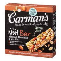 Carman's Nut Bars - Almond with Hazelnut & Vanil... | Cereal Bars | Office Pantry Supplies
