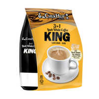 Chek Hup 3 in 1 Instant Ipoh White Coffee - King 15S | 3-In-1 | Office Pantry Supplies