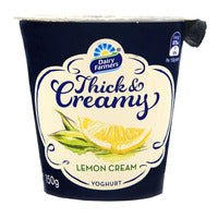 Dairy Farmers Thick & Creamy Yoghurt - Lemon Cream 150G | Yoghurt | Office Pantry Supplies