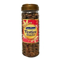 FairPrice Festive Snacks - Baked Almonds 480G | Beans Seeds Nuts | Office Pantry Supplies