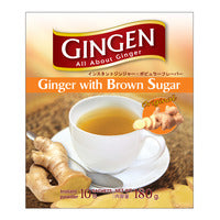 Gingen Instant Ginger Powder - Brown Sugar 180G (10S) | Fruit | Office Pantry Supplies