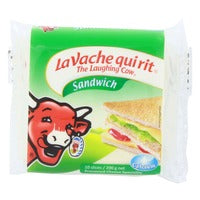 The Laughing Cow Cheese Slices - Sandwich 200G (10S) | Cheese | Office Pantry Supplies