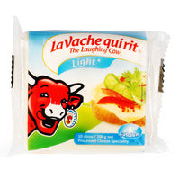 The Laughing Cow Cheese Slices - Light 200G (10S) | Cheese | Office Pantry Supplies