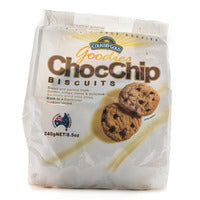 Country Gold Goodies Biscuits - Choc Chip 240G | Biscuits and Crackers | Office Pantry Supplies