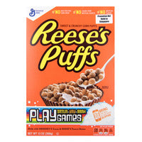 General Mills Reese's Puffs Cereal - Peanut Butt... | Cereal | Office Pantry Supplies