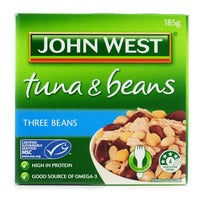 John West Tuna & Beans - Three Beans 185G | Canned | Office Pantry Supplies