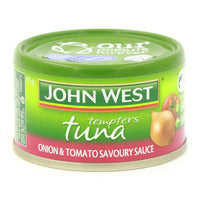 John West Tempters Tuna - Onion & Tomato 95G | Canned | Office Pantry Supplies