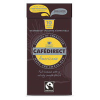 Cafedirect Coffee Capsules - Americano 530G (10S) | Capsules Pods | Office Pantry Supplies