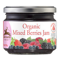 Alce Nero Organic Jam - Mixed Berries 270G | Spreads | Office Pantry Supplies