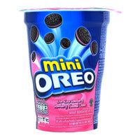 Mini Oreo Cookies Cup - Strawberry 67G | Biscuits and Crackers | Office Pantry Supplies