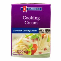 Emborg European Cooking Cream 200ML | Milk and Cream | Office Pantry Supplies