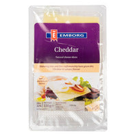 Emborg Natural Cheese Slices - Cheddar 150G | Cheese | Office Pantry Supplies